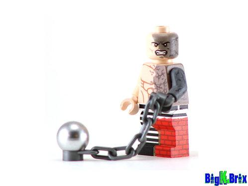 ABSORBING MAN Custom Printed on Lego Minifigure! Marvel