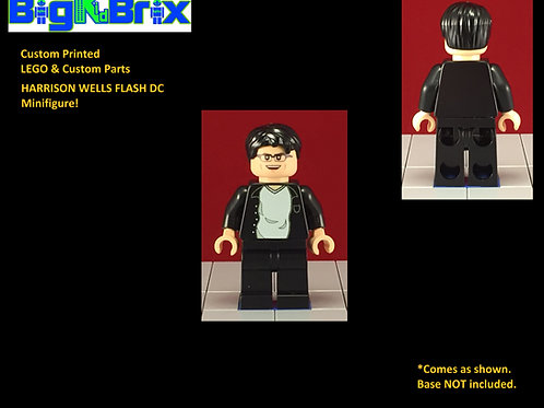 Harrison Wells Flash DC Custom Printed Minifigure