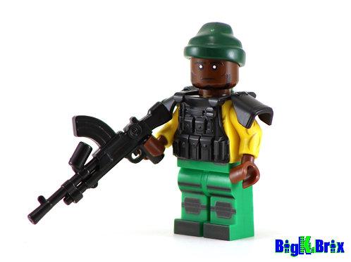 HEAVY DUTY Custom Printed & Inspired Lego GI JOE Minifigure!