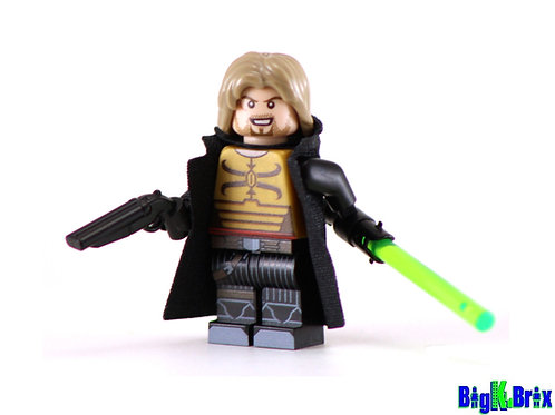 CADE SKYWALKER Custom Printed on Lego Minifigure! Star Wars