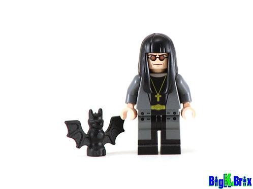 OZZY OSBOURNE Musician Custom Printed & Inspired Lego Minifigure
