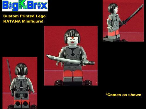 Katana DC Custom Printed Minifigure