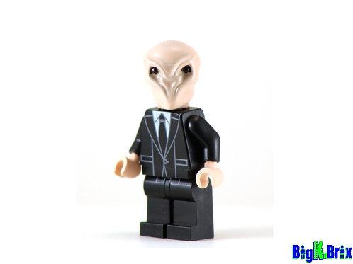 THE SILENCE Dr. Who Custom Printed on Lego Minifigure!