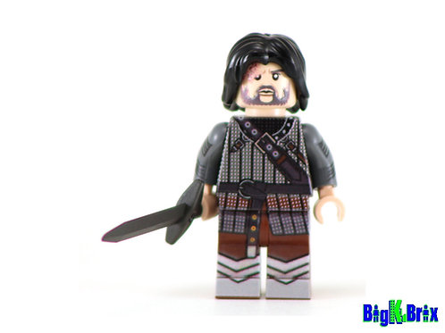 HOUND Sandor Glegane Custom Printed & Inspired Lego Game of Thrones Minifigure