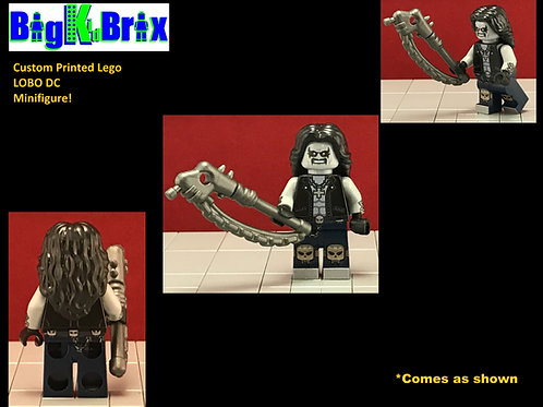 Lobo DC Custom Printed Minifigure