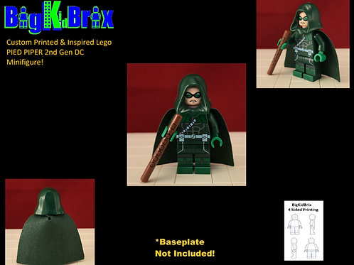 PIED PIPER 2nd Gen Custom Printed & Inspired Lego DC Minifigure