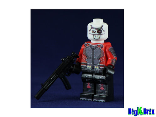 DEADSHOT Suicide Squad Custom Printed & Inspired Lego DC Minifigure