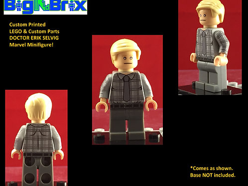 Doctor Erik Selving Marvel Custom Printed Minifigure