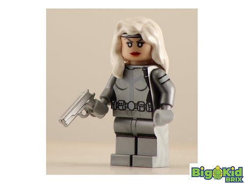 SILVER SABLE Custom Printed on Lego Minifigure! Marvel