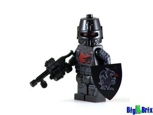BLACK KNIGHT Custom Printed on Lego Minifigure! Fortnite Game