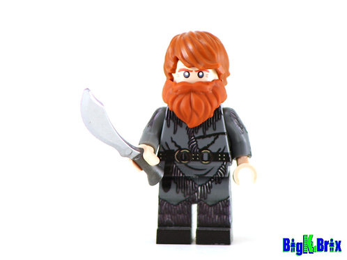 TORMUND GIANTSBANE Custom Printed & Inspired Lego Game of Thrones Minifigure