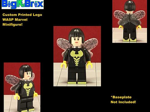 WASP Custom Printed & Inspired Lego Marvel Minifigure