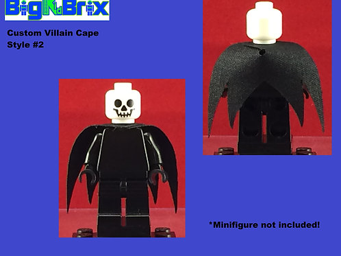 Cape Custom Style #2 Sith Type for Lego Minifigures