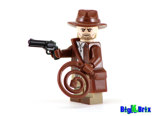INDIANA JONES Custom Printed & Inspired Lego Movie Minifigure!