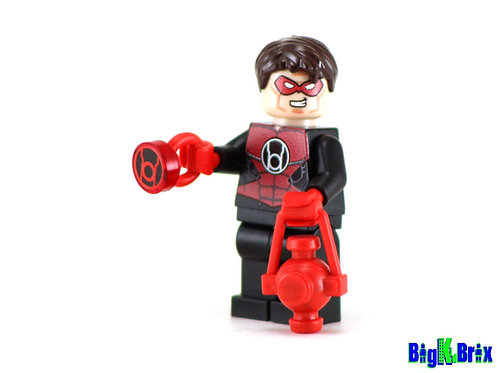 HAL JORDAN RED LANTERN Custom Printed & Inspired Lego DC Minifigure