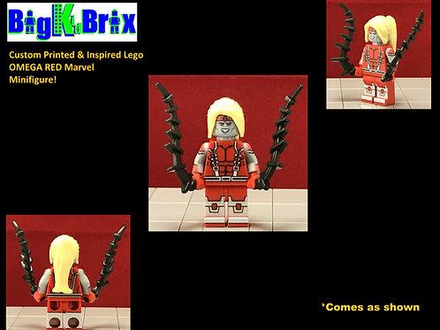 OMEGA RED Custom Printed & Inspired Marvel Lego Minifigure