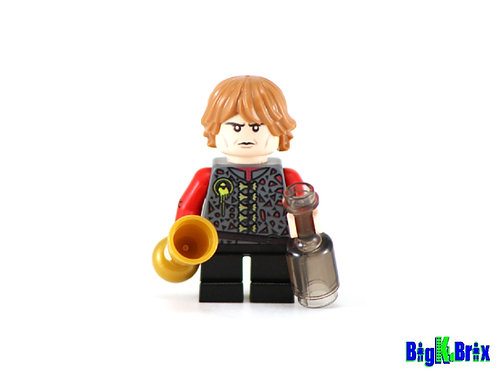 TYRION LANNISTER Custom Printed on Lego Minifigure! Game of Thrones