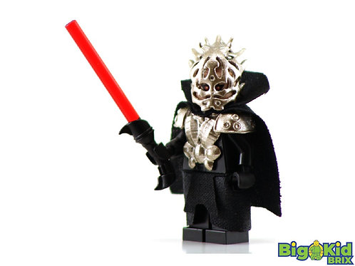 DARTH BANE ARMORED Custom Printed on Lego Minifigure! Star Wars