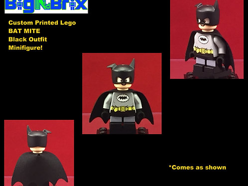 Bat Mite Black DC Custom Printed Minifigure