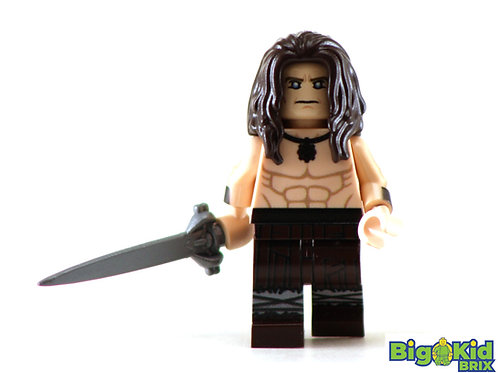 CONAN the BARBARIAN Custom Printed on Lego Minifigure! Movie Comic