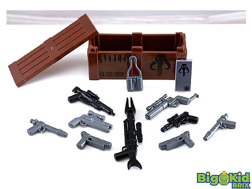 MANDALORIAN Weapons Pack Custom Weapons by BigKidBrix! Limited Quantities