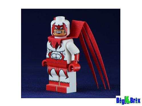 HAWK Custom Printed & Inspired DC Lego Minifigure
