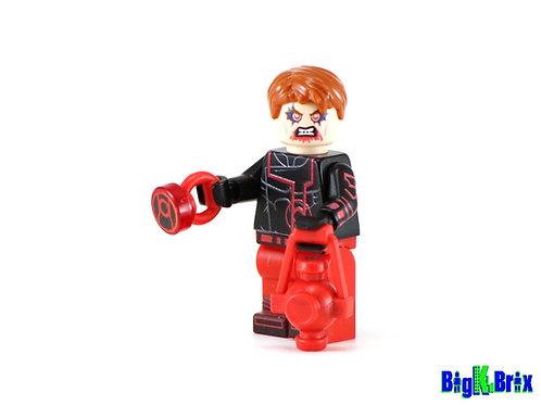 GUY GARDNER Red Lantern Custom Printed on Lego Minifigure! DC