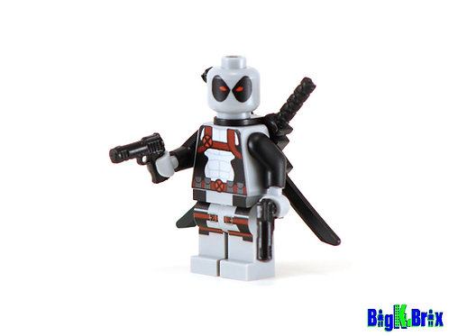 DEADPOOL XForce Custom Printed & Inspired Lego Marvel Minifigure