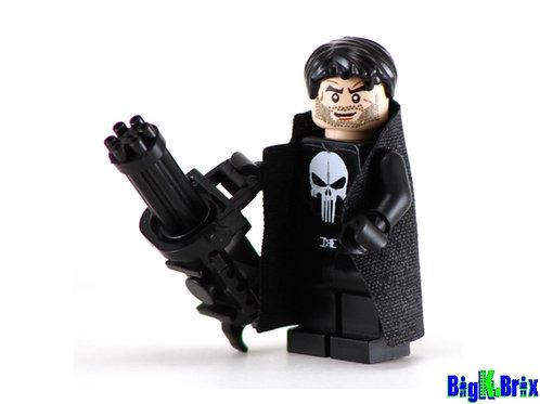 PUNISHER Movie Version Custom Printed & Inspired Lego Marvel Minifigure