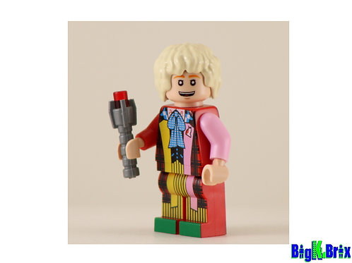 DOCTOR WHO #6 Custom Printed on Lego Minifigure! Dr. Who