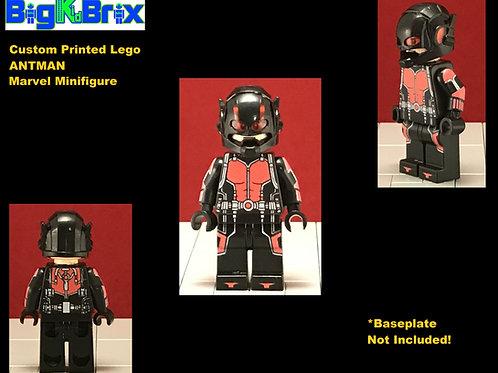 ANTMAN vers2 Custom Printed & Inspired Lego Marvel Minifigure