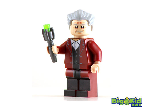 DOCTOR WHO #12 Custom Printed on Lego Minifigure! Dr. Who