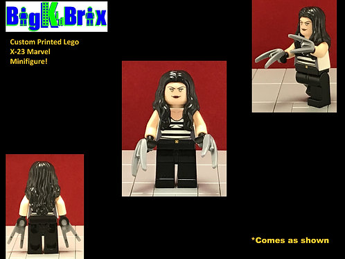 X-23 Marvel Custom Printed Lego Minifigure