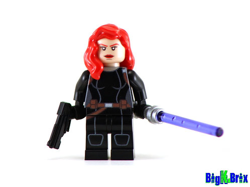 MARA JADE SKYWALKER Custom Printed on Lego Minifigure! Star Wars