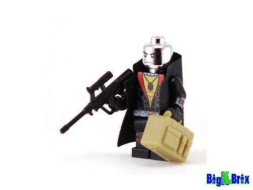 DESTRO GI Joe Custom Printed on Lego Minifigure! GI JOE