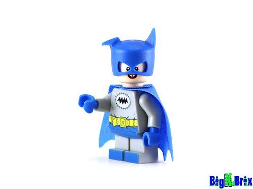 BAT MITE Blue Custom Printed on Lego Minifigure! DC