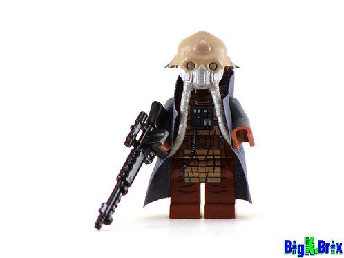 EDRIO TWO TUBES Custom Printed on Lego Minifigure! Star Wars Merc Pilot