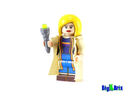 DOCTOR WHO #13 Custom Printed on Lego Minifigure! Dr. Who