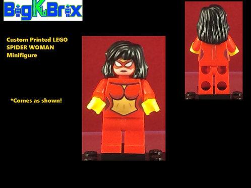 Spider Woman Marvel Custom Printed Minifigure