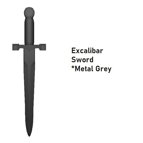 EXCALIBAR SWORD Custom for Lego Minifigure! Medieval