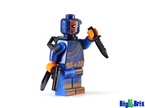 DEATHSTROKE Custom Printed on Lego Minifigure! DC
