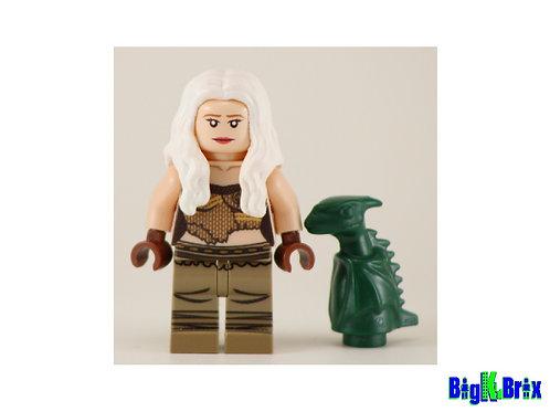 DAENERYS TARGARYEN Custom Printed & Inspired Game of Thrones Lego Minifigure