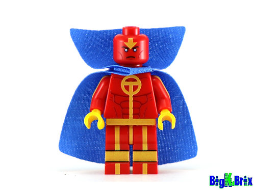 RED TORNADO Custom Printed on LEGO Minifigure! DC
