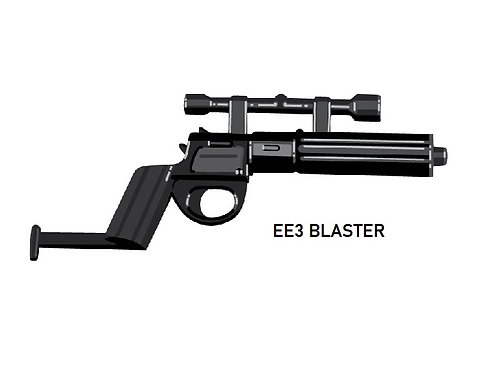 EE-3 Custom Blaster Rifle for Lego Star Wars Minifigures Minifigs
