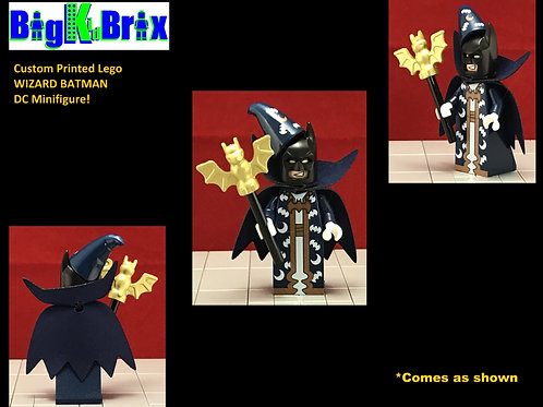 BATMAN WIZARD DC Custom Printed Lego Minifigure