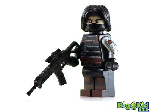 WINTER SOLDIER Custom Printed on Lego Minifigure! Marvel