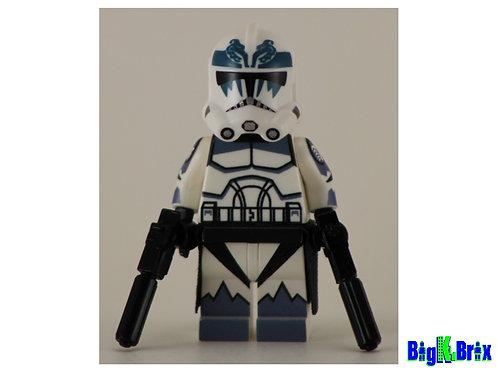 COMMANDER WOLFFE Custom Printed & Inspired Lego Star Wars Minifigure