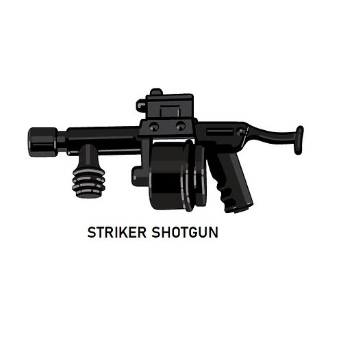 STRIKER SHOTGUN for Lego Minifigure