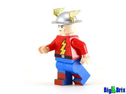 JAY GARRICK Original Flash V1 Custom Printed & Inspired Lego DC Minifigure