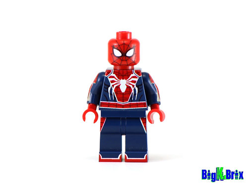 SPIDERMAN PS4 Game Custom Printed on Lego Minifigure! Marvel